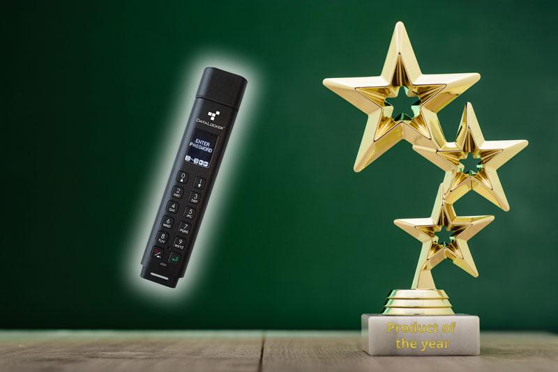 DataLocker K300 ist Product of the Year