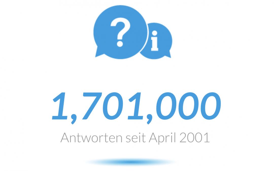 Die FAQs von ProSoft: 1,7 Millionen Besucher – 1,7 Millionen Antworten